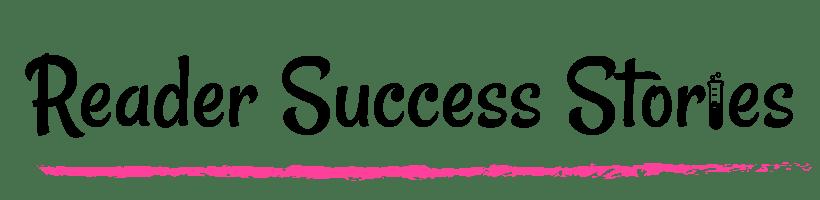 Reader Success Stories on Chemistry Cachet