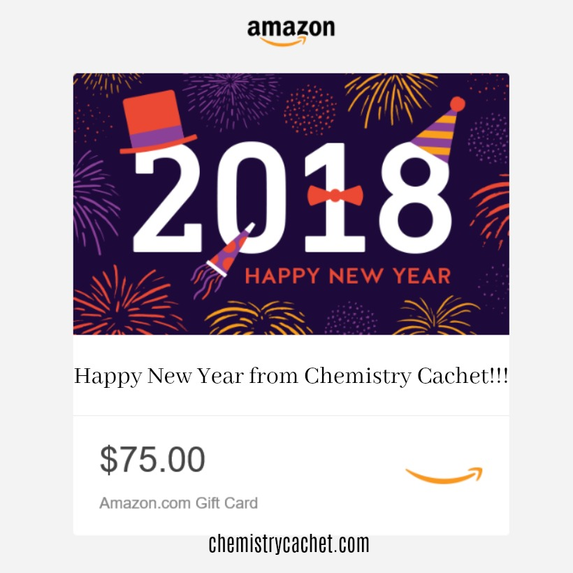 $75 Amazon Giveaway to Celebrate the New Year!