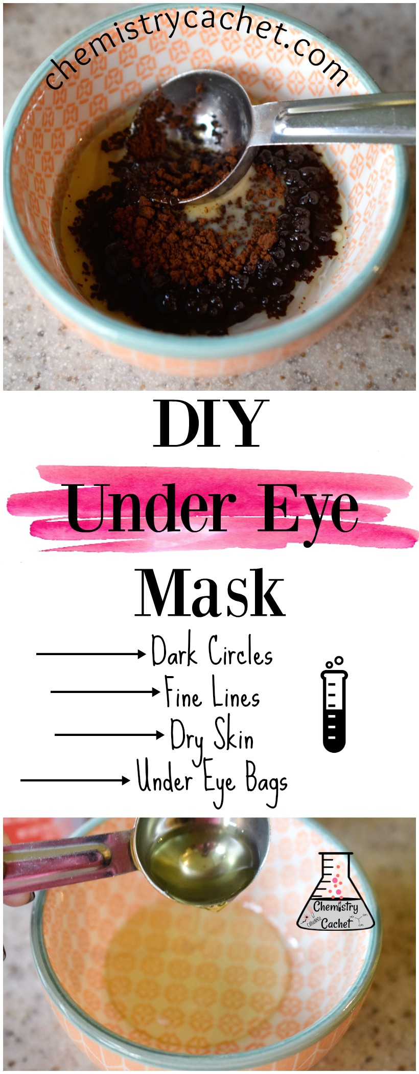 DIY Under Eye Mask for Dark Circles, Under Eye Bags, and ...