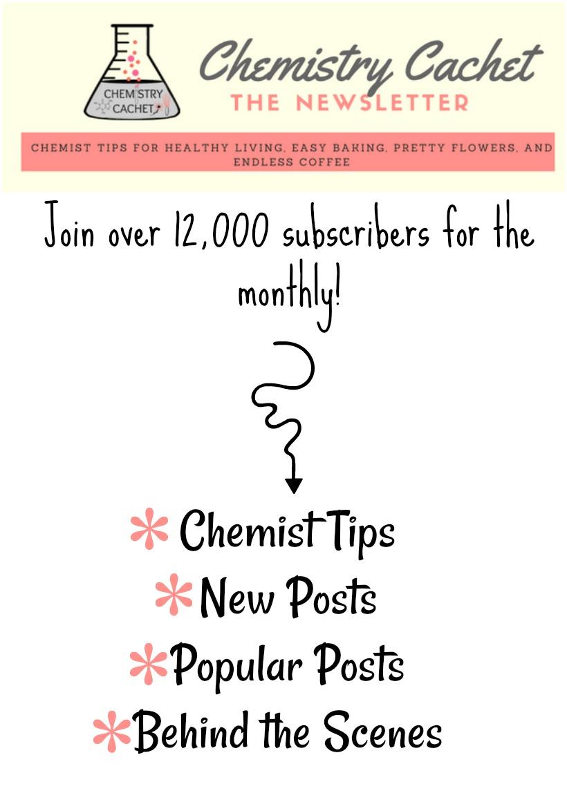 Join the Chemistry Cachet Newsletter!
