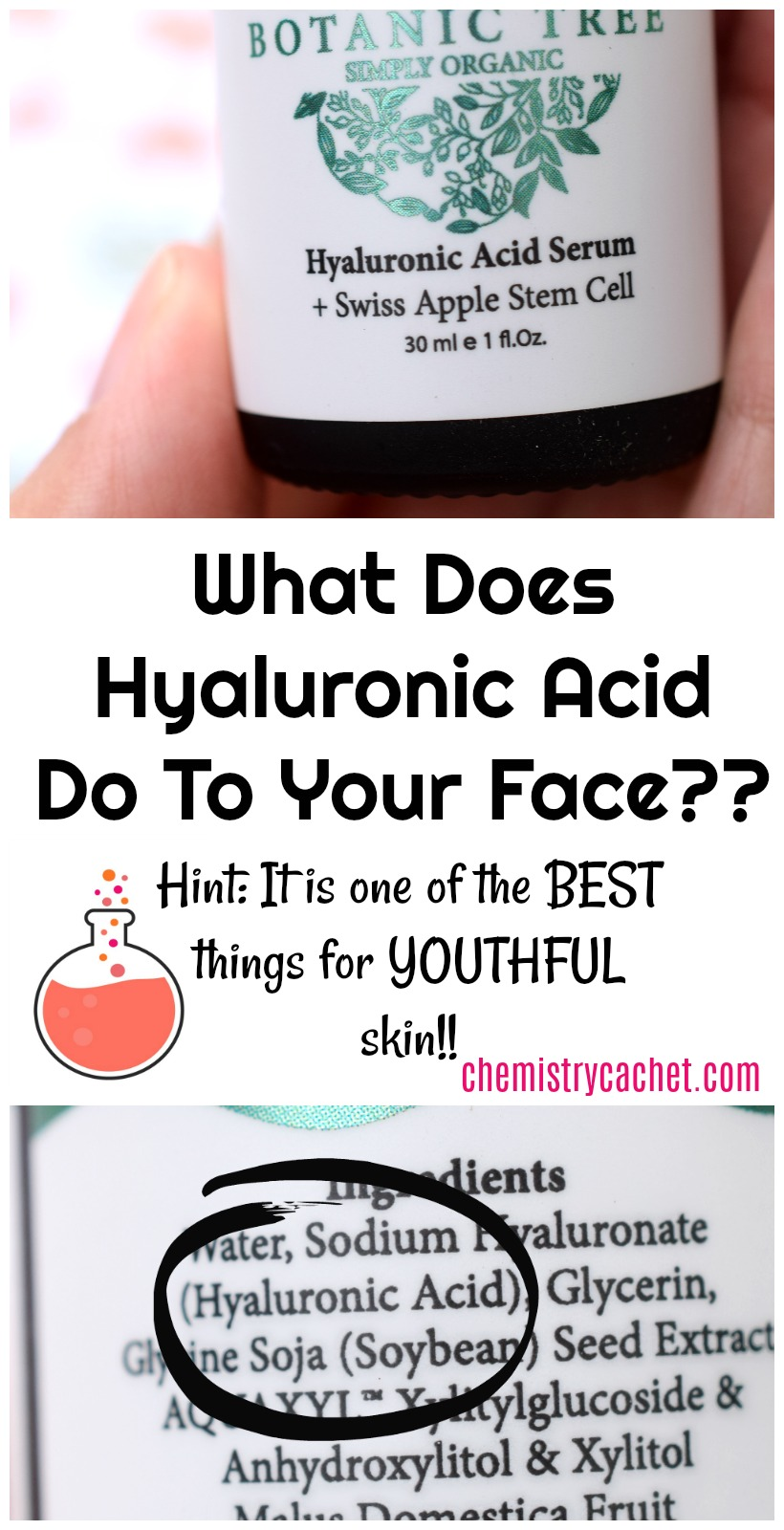 What Does Hyaluronic Acid Do To Your Face? Based on Science!