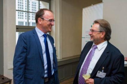 mit Dr. Axel Viehweger (Vorstandsvorsitzender des Verbandes Sächsischer Wohnungsgenossenschaften e.V.)