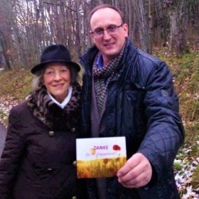 Annerose Hähnel, treue Begleiterin des Bürgerbüros