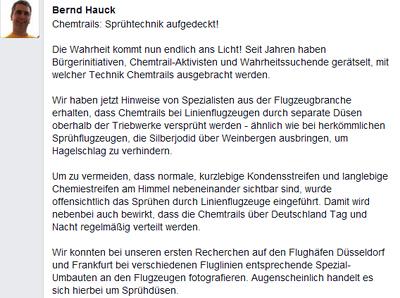 Die Sprühdüsen von Bernd Hauck