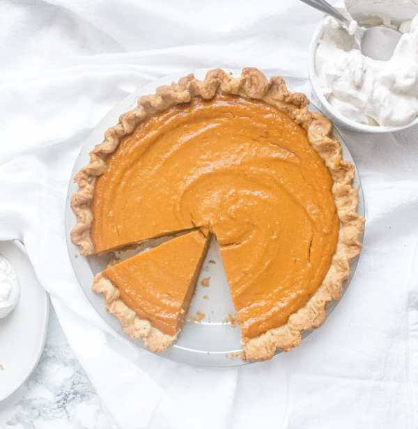 Brown Butter Black-Bottom Sweet Potato Pie Recipe | Chenée Today
