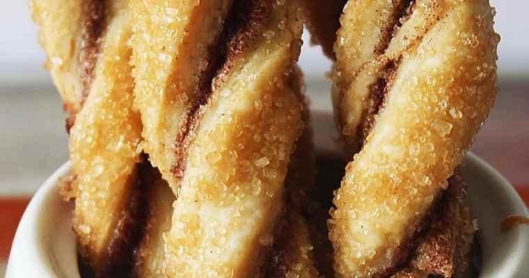 Pie Crust Cookie Twists
