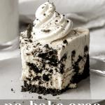 Best Easy No Bake Oreo Cheesecake Recipe | Chenée Today