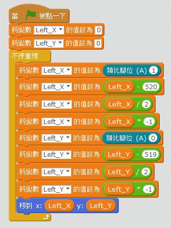 mBlock + Arduino,使用遙桿控制遊戲角色  程式設計教育農場by 陳富國