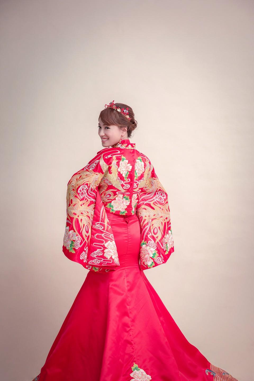 婚紗攝影,婚紗包套,新娘秘書,中式婚紗