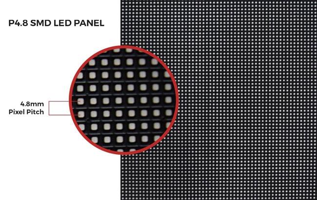 4 mm Pixelabstand