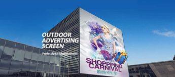 Schermo LED pubblicitario per esterni