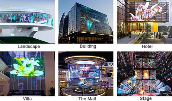 CHENKSE Transparent LED displays