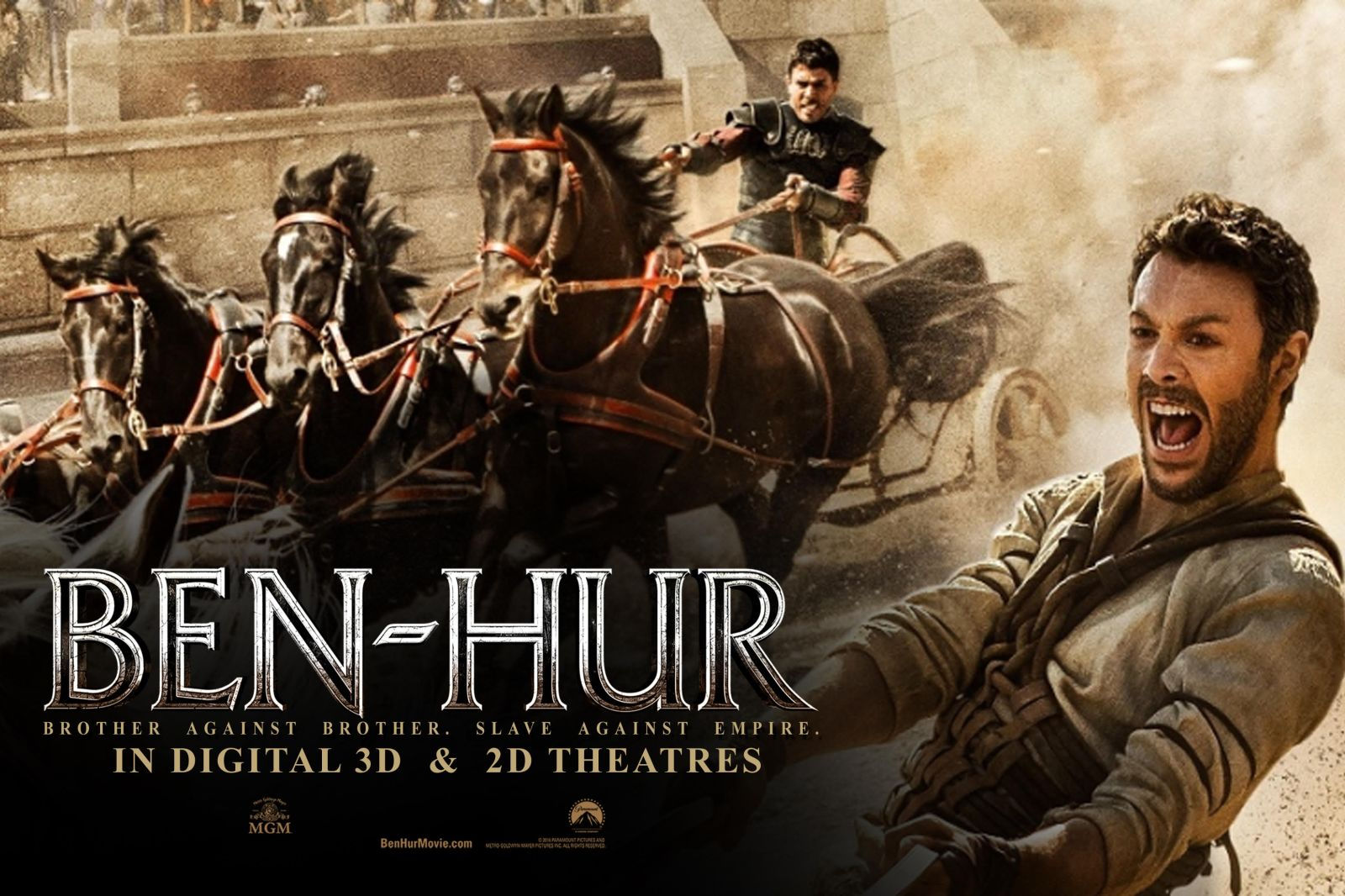 Movies 2016 Posters: Ben-Hur (2016) Review