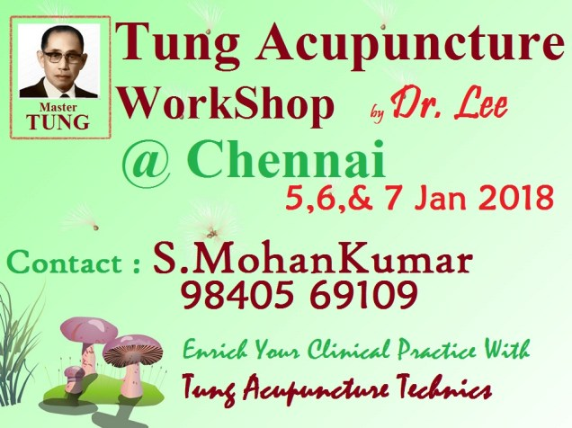 Tung Acupuncture WorkShop In Chennai