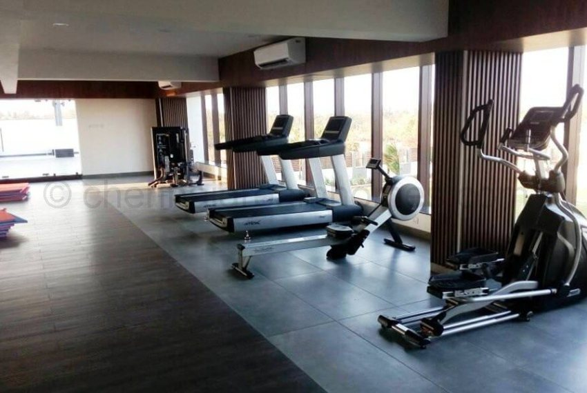 clubhouse - gym