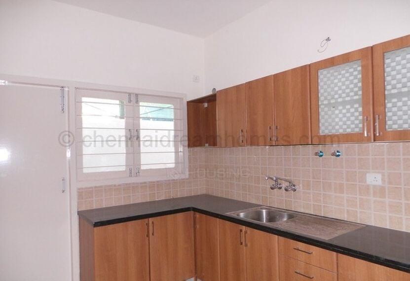 large modular kitchen
