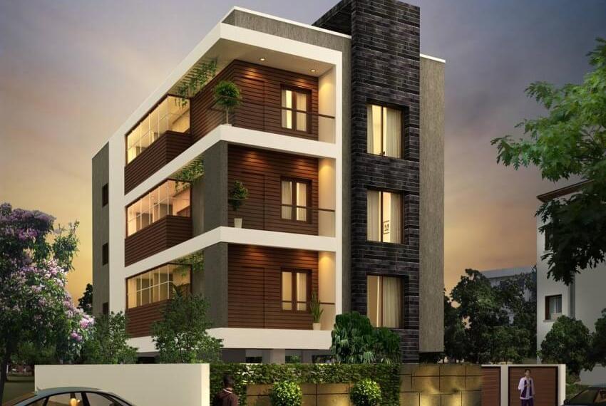 3-bhk-flats-for-sale-kotturpuram-Elevation