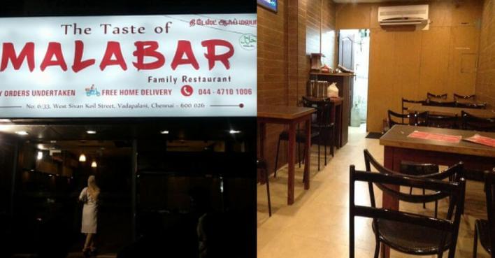Taste Of Malabar Chennai