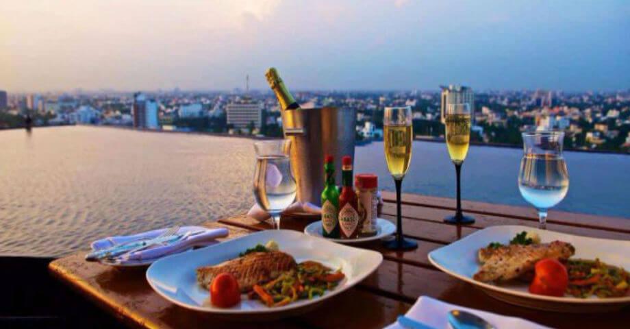 The Crown - romantic restaurant in chennai