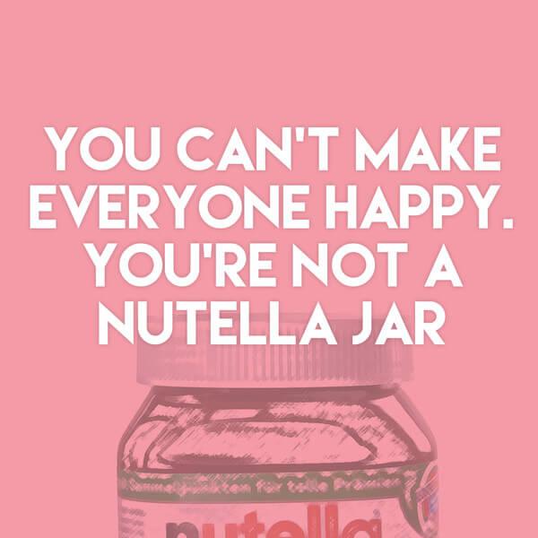 Nutella Quotes