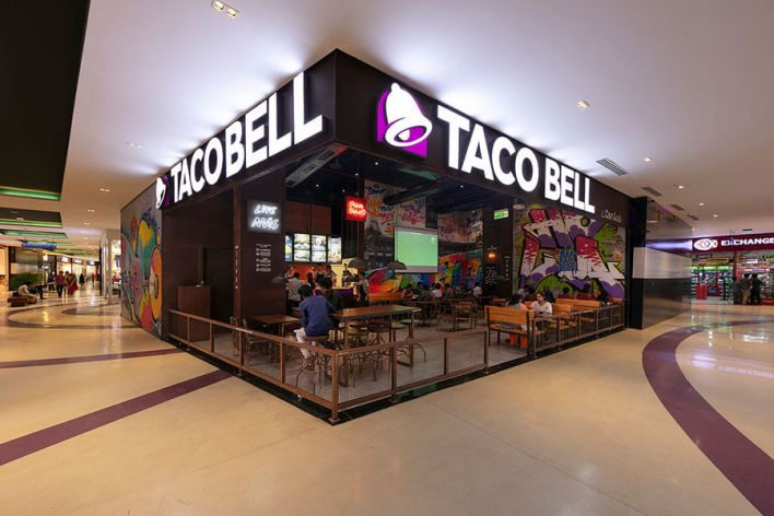 TACO BEll vr mall