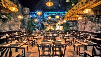 waterfall themed restaurant in chennai