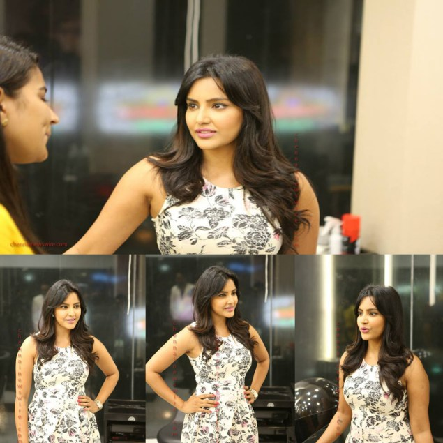 Priyaanand Actress wallpaper at essensuals Chennai