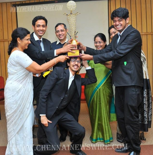 Saveetha University Competition winners