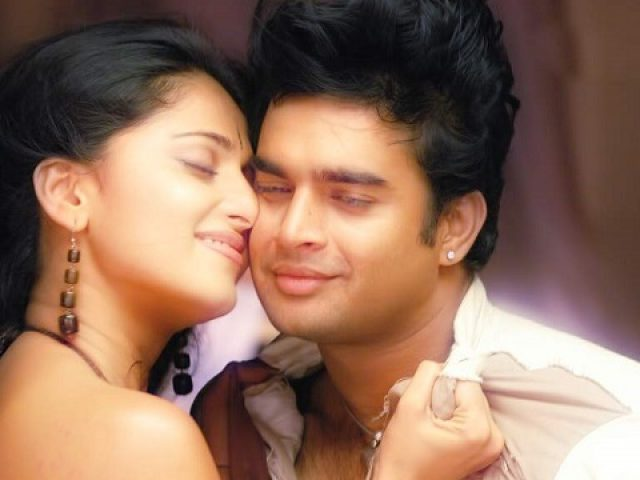 Anushka Acting As A Dumb Artist With Madhavan