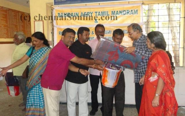 Flood Relief Materials distributed to 40 visually impaired people