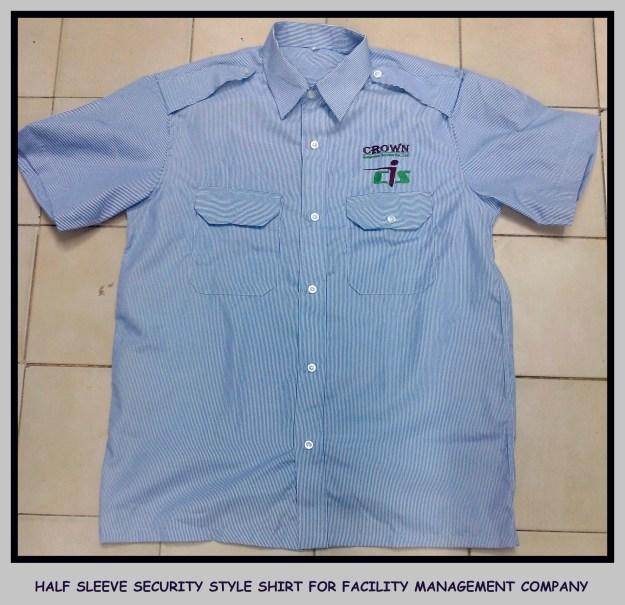 Uniform shirt half sleeves - Security Uniform