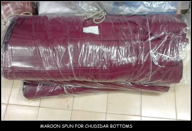 Spun cloth for School uniforms in Chennai