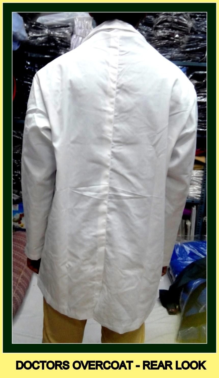 Doctor's overcoat - Full sleeves