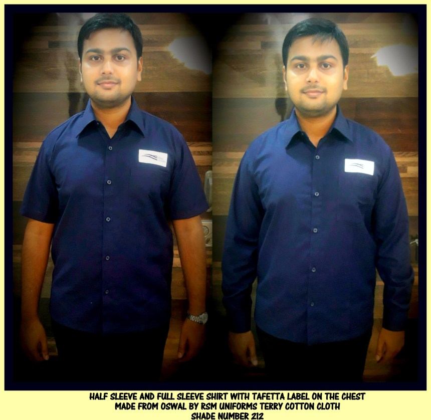 Uniform shirts - Half sleeves and Full sleeves