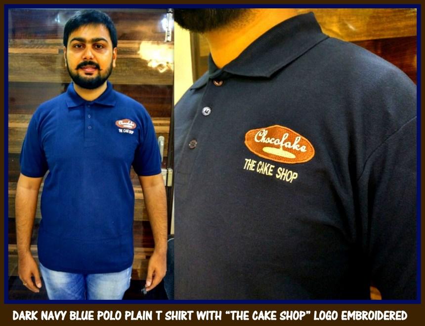 Embroidered Uniform T shirt