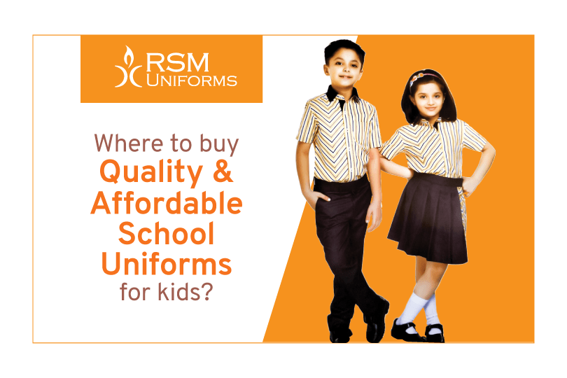 Where to buy quality and affordable school uniforms for kids