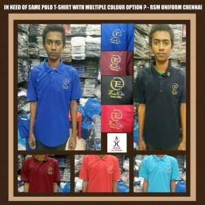 Polo uniform T shirt supplier in Chennai
