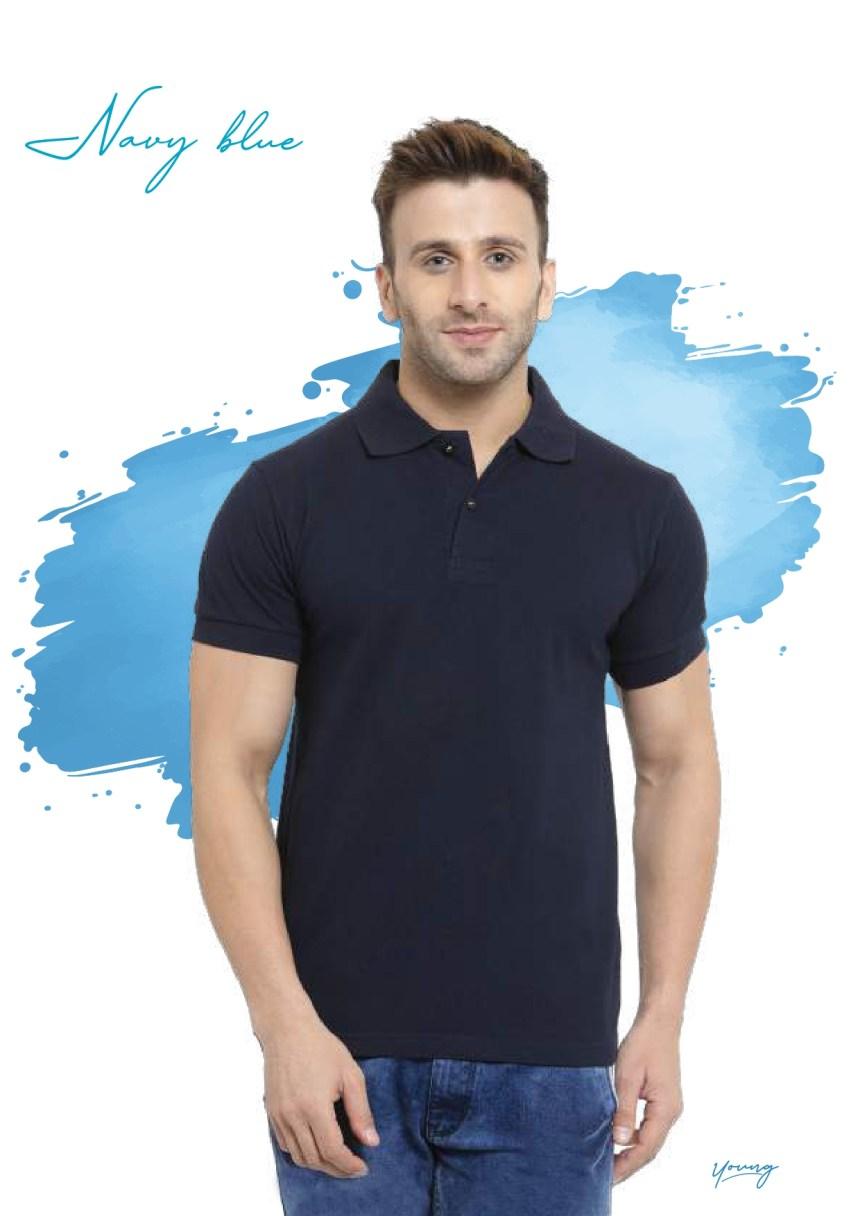 Scott young navy blue t-shirt in Chennai- Rsm Uniform Chennai