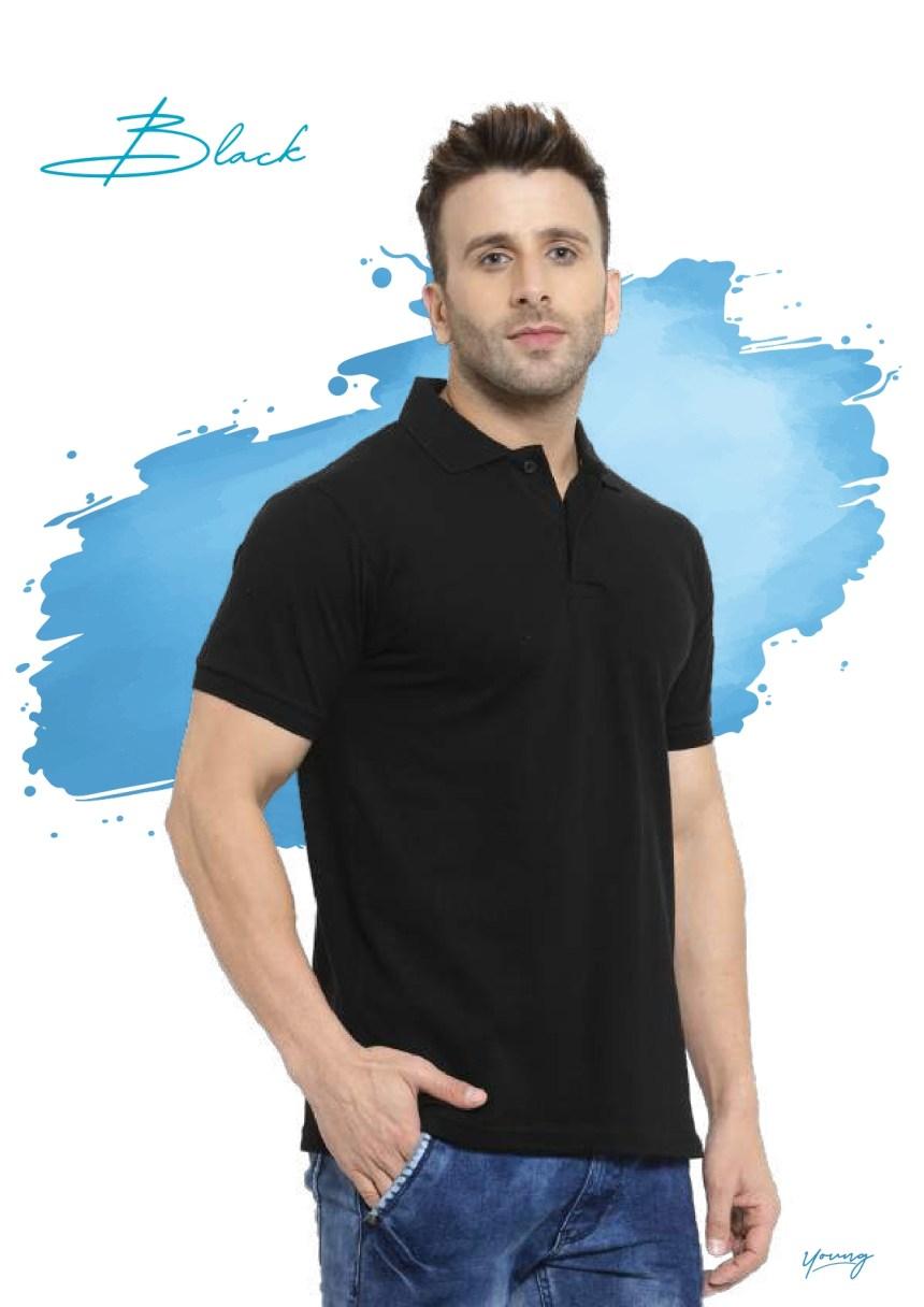 Scott young black t-shirt in Chennai- Rsm Uniform Chennai