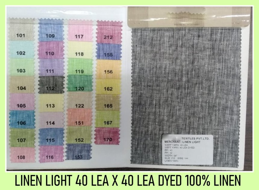 Linen light 40 lea x 40 lea