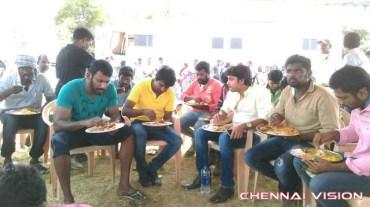 Marudhu Tamil Movie Final Day Shoot Photos by Chennaivision