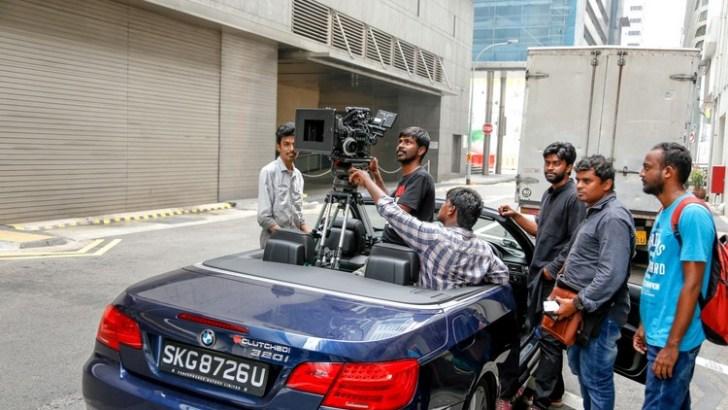 Chennai 2 Singapore Tamil Movie Working Photos