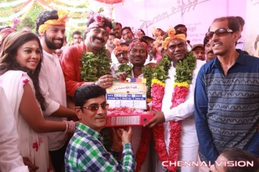 Naan Avalai Sandhitha Pozhudhu Tamil Movie Pooja Photos by Chennaivision
