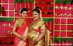Rahul Weds Sridevi Seemandam Function Photos