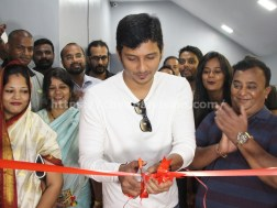 Actor Jiiva Inaugurated Muscle Garage GYM 2