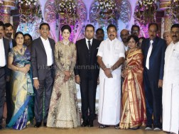 Producer Abinesh Elangovan - Nandhini Wedding Reception Stills