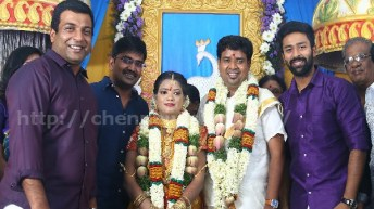Director Nalan Kumarasamy – Saranya Marriage Photos