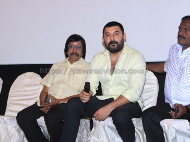 Bhaskar Oru Rascal press meet stills 7