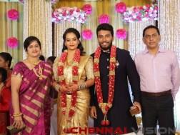Actress Suja Varunee Wedding Reception Photos 17