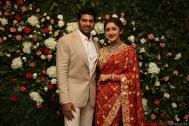 Arya - Sayyesha Reception Photos 14